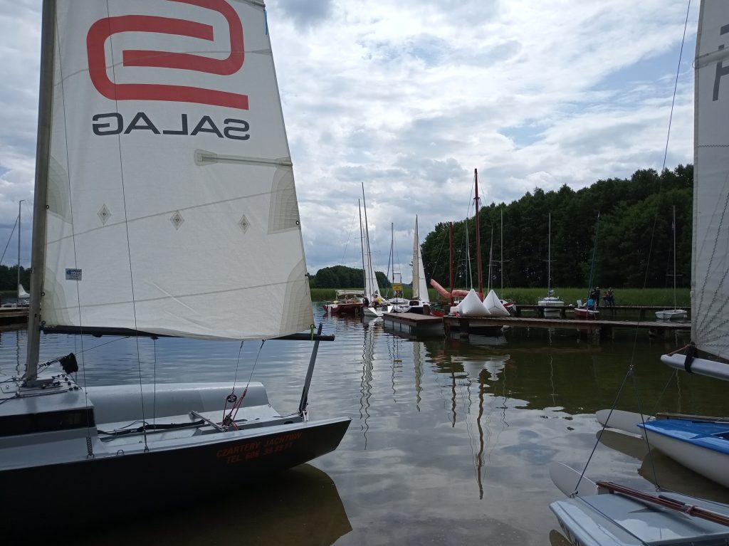Regaty Klub Wodny Hańcza - czarter jachtów Augustów