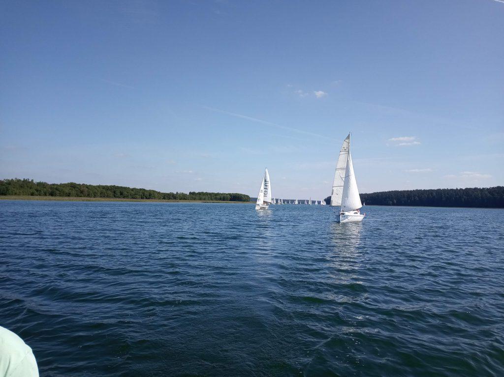 Błękitna Wstęga Jeziora Wigier 2019 - czarter jachtów Augustów
